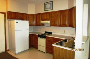 Each of the Davenport Assisted Living Apartments has its own kitchen.